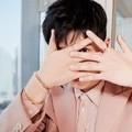 刘昊然亮相上海活动 淡粉色西装诠释春日浪漫