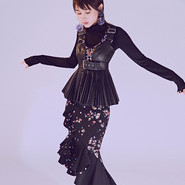 复古风玩出高级时尚感 王子文写真大片演绎欧式经典格调