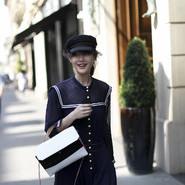 陈燃现身巴黎澳门十大老品牌网赌活动 简约针织裙轻松穿出时髦
