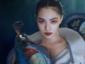 钟楚曦拍摄澳门十大老品牌网赌大片 微露美人骨五官明艳